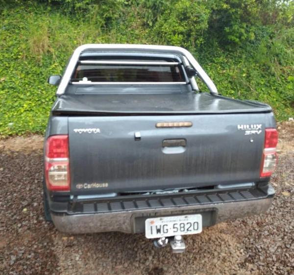 Camionete roubada em Coronel Bicaco foi localizada pela BM em Carazinho