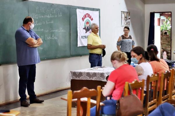 Mutirão da Agricultura Familiar é realizado em Tenente Portela
