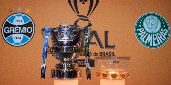 Grêmio fará o primeiro jogo da final da Copa do Brasil contra o Palmeiras na Arena