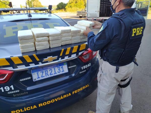 Traficante com 25 quilos de cocaína é preso em Sarandi