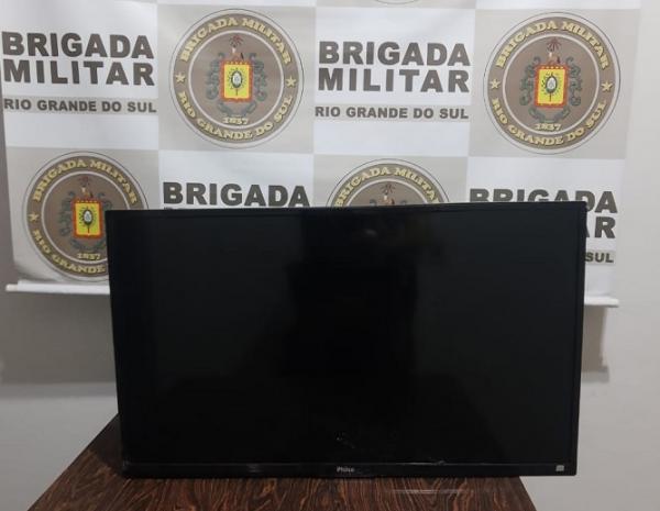 Brigada Militar prende indivíduos após furto qualificado no hospital de Santo Augusto