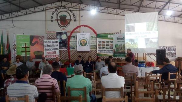 Coronel Bicaco realizou o 1º Seminário Regional da Erva-mate