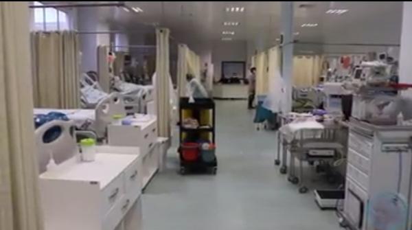 20 pacientes estão internados na UTI do Hospital Santo Antônio