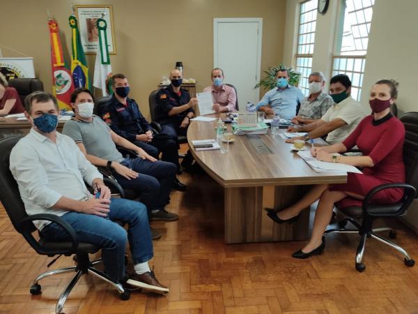 Prefeitos encaminham proposta para instalação de bombeiros em Tenente Portela