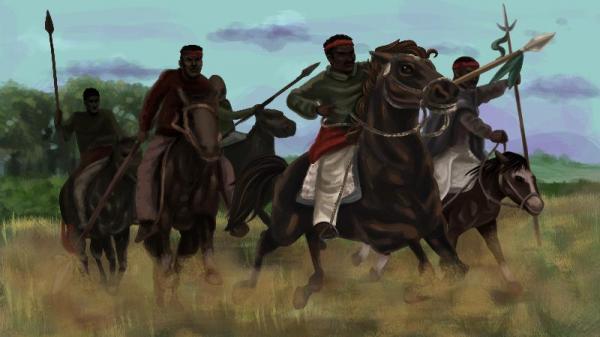 Os lanceiros negros na Guerra dos Farrapos