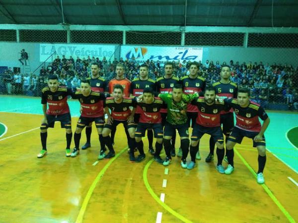 Três Passos goleia Tenente Portela no clássico regional pela 5ª Copa Noroeste de Futsal