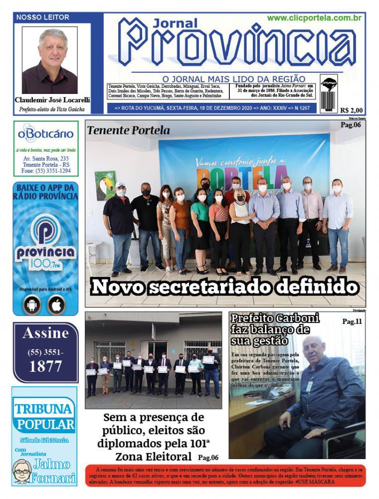 Edição 1268 - 18 de Dezembro de 2020