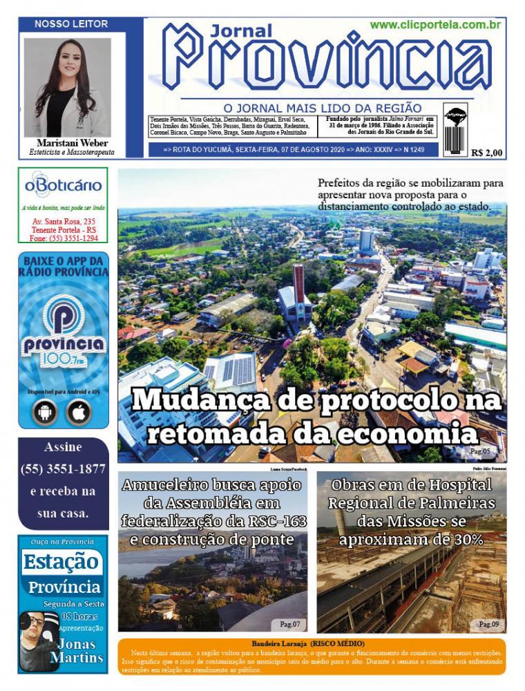 Edição 1249 - 07 de Agosto de 2020