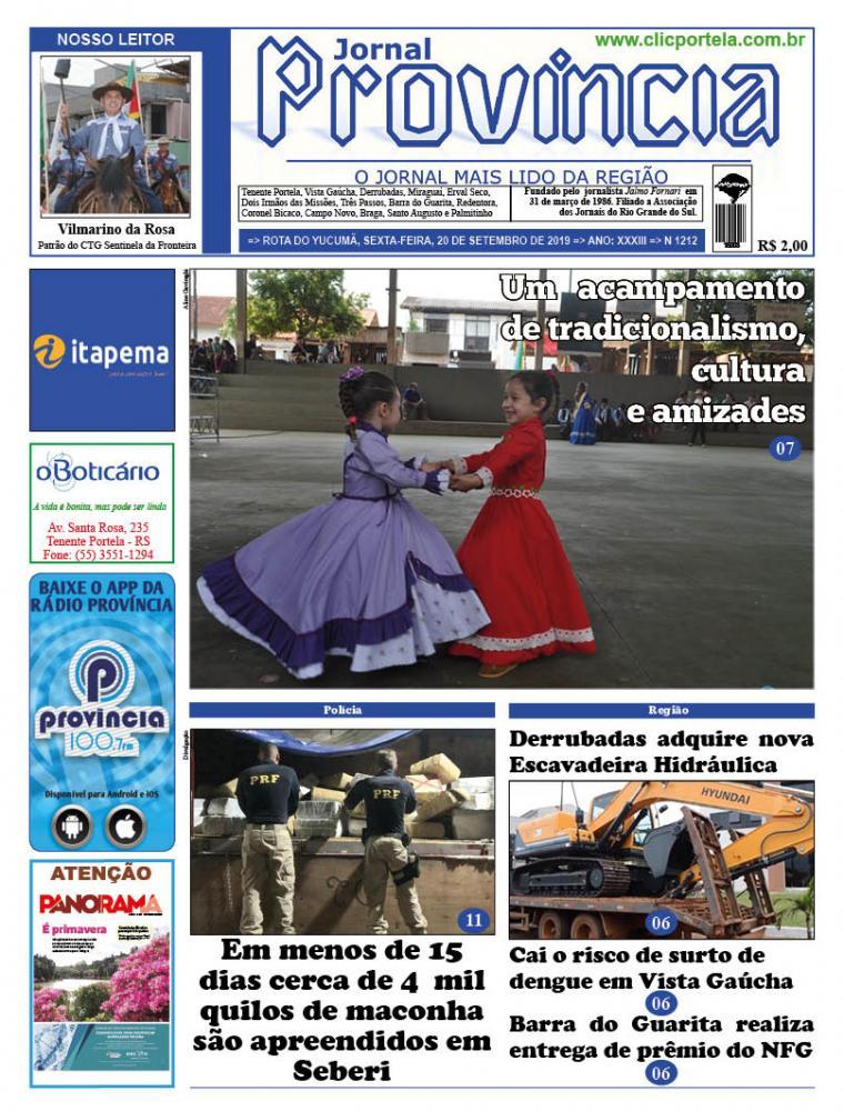 Edição 1212 - 20 de Setembro de 2019