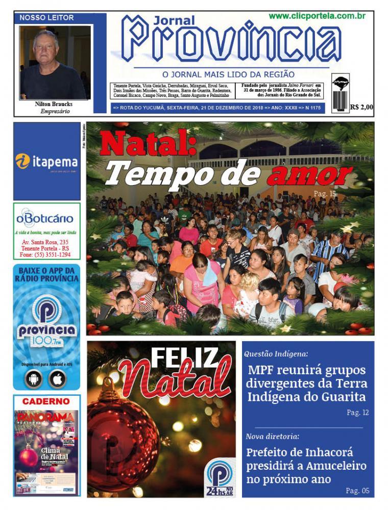 Edição 1175 - 21 de Dezembro de 2018