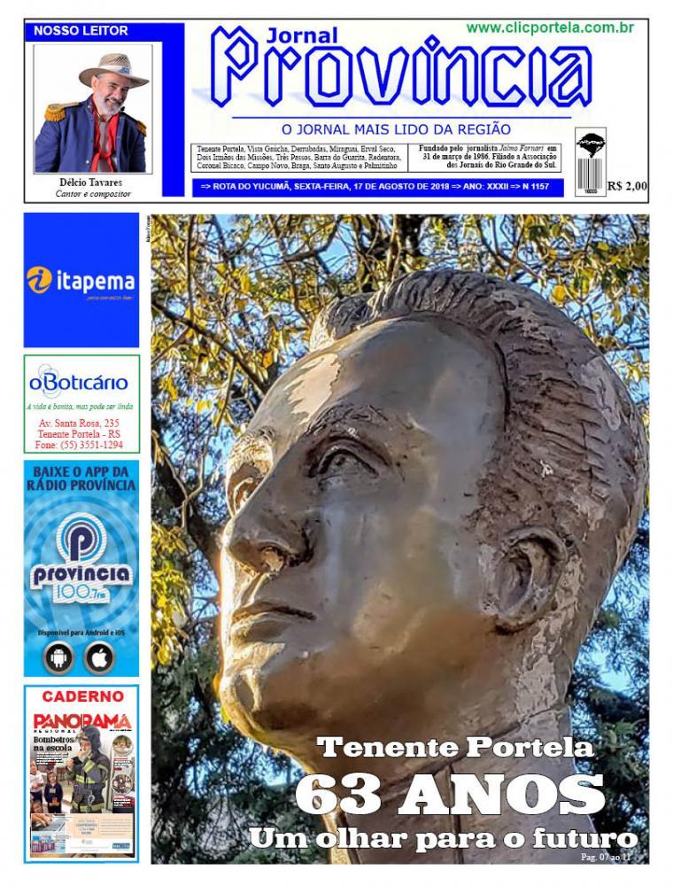 Edição 1157 - 17 de Agosto de 2018