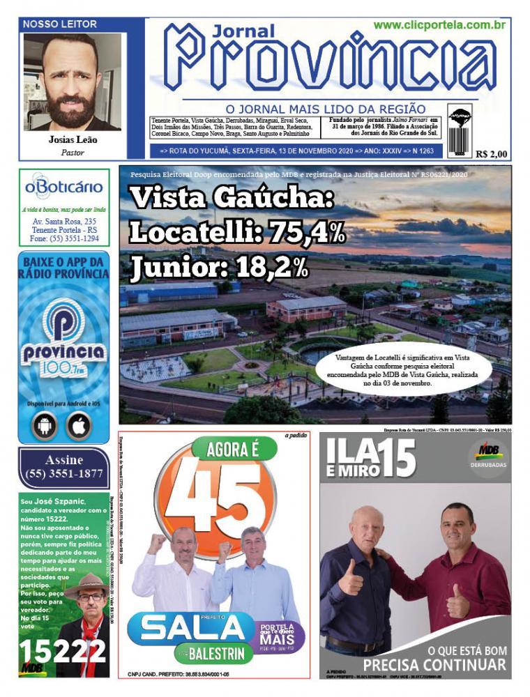 Edição 1263 - 13 de Novembro de 2020