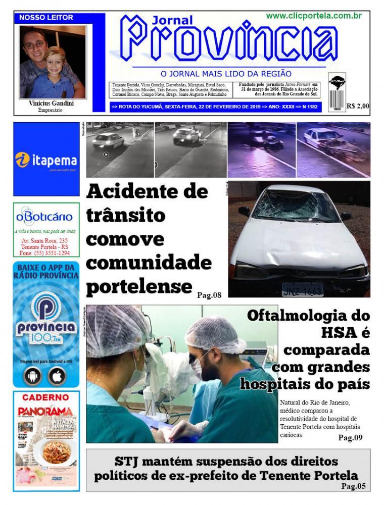 Edição 1182 - 22 de Fevereiro de 2019