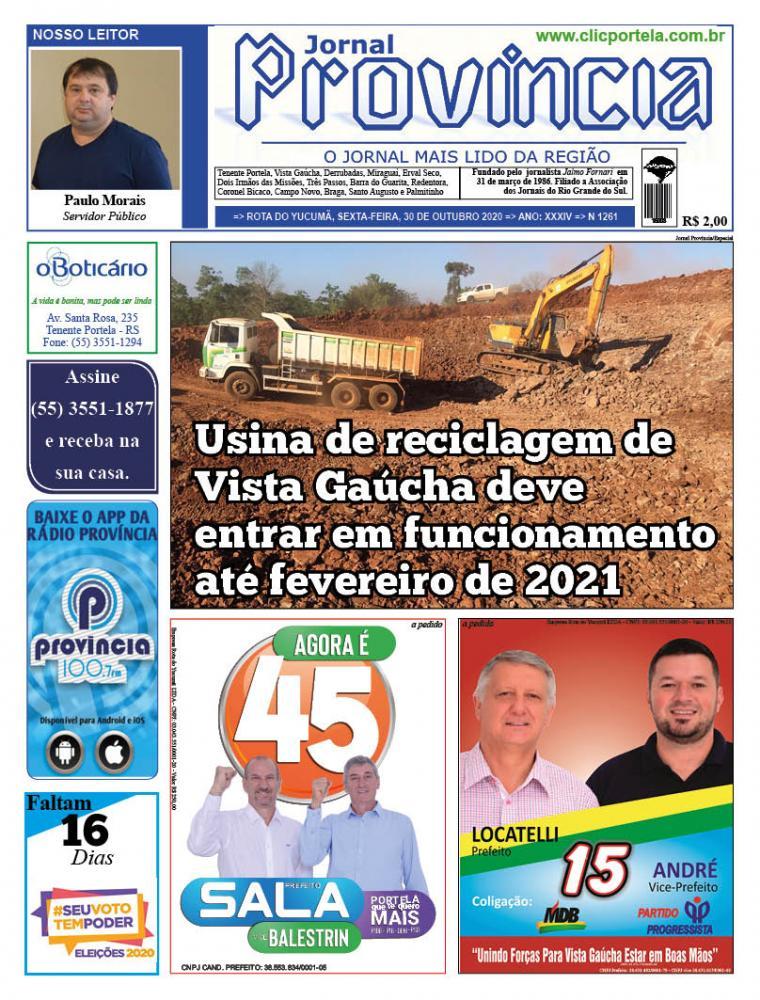 Edição 1261 - 30 de Outubro de 2020