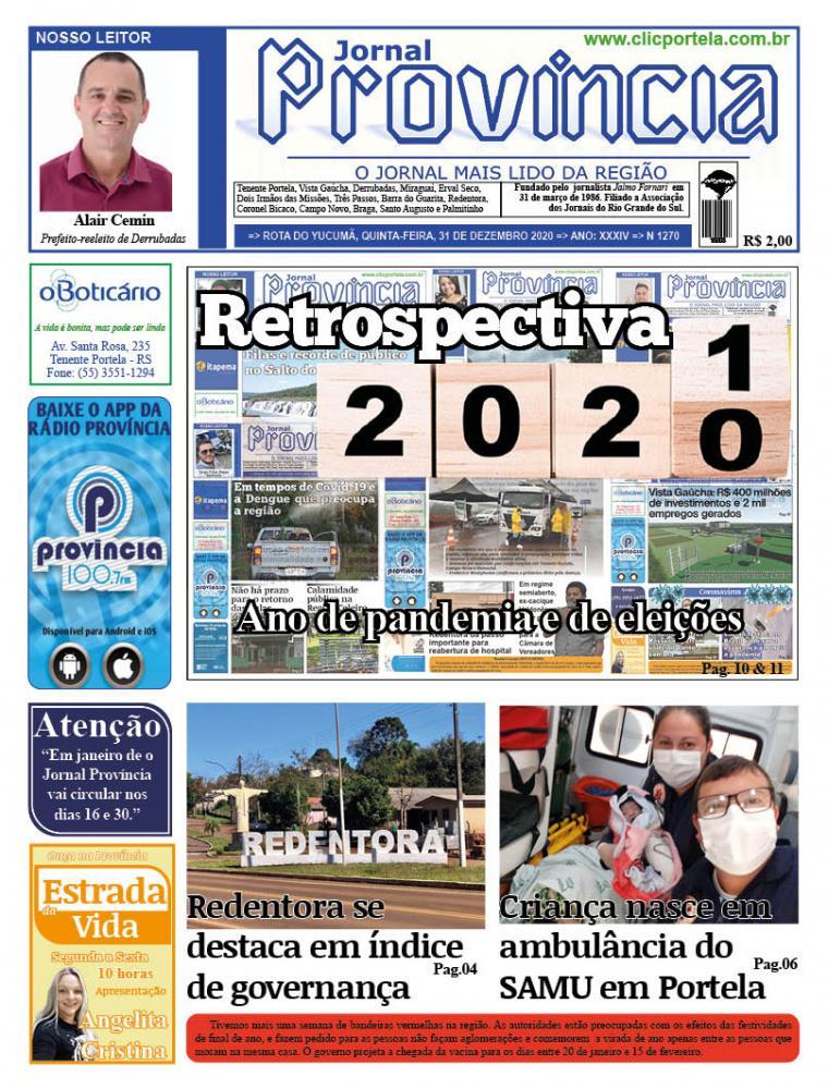 Edição 1270 - 31 de Dezembro de 2020