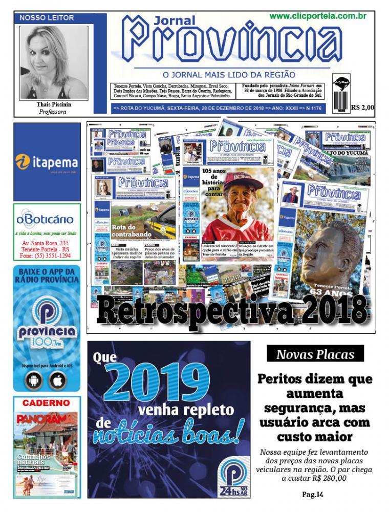 Edição 1176 - 28 de Dezembro de 2018