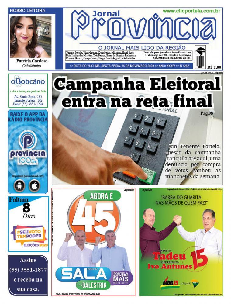 Edição 1262 - 06 de Novembro de 2020