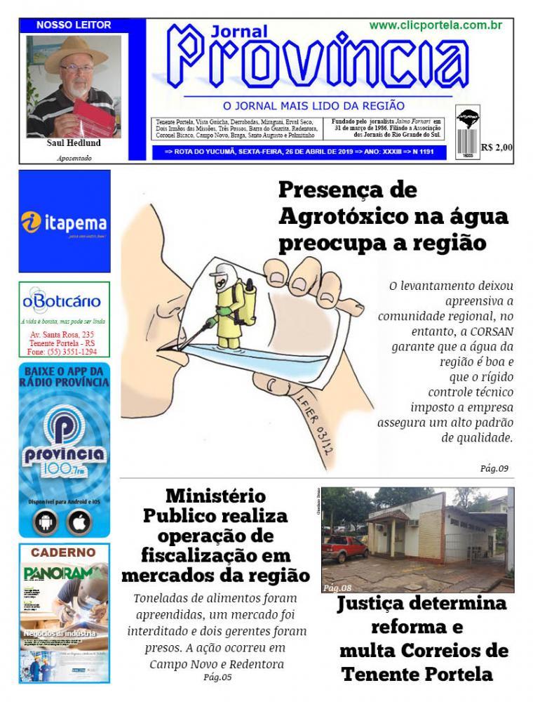 Edição 1191 - 26 Abril de 2019