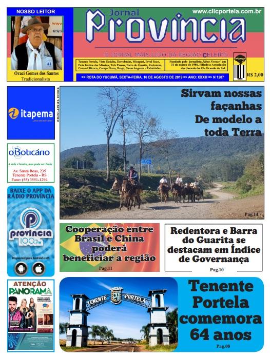 Edição 1207 -16 de agosto de 2019