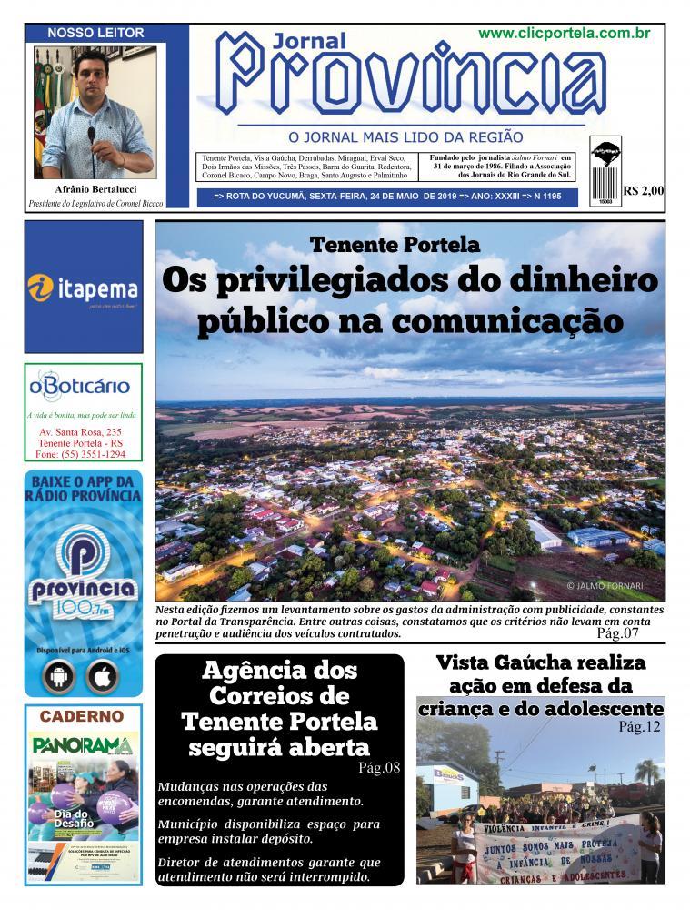 Edição 1195 - 24 de maio de 2019