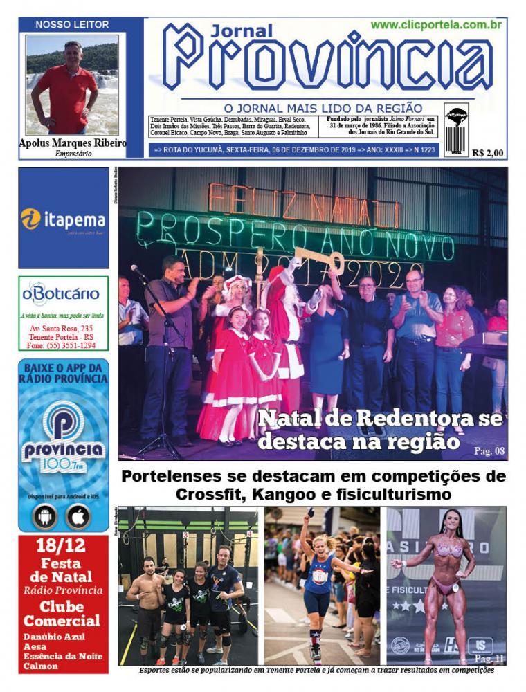 Edição 1223 - 06 de Dezembro de 2019