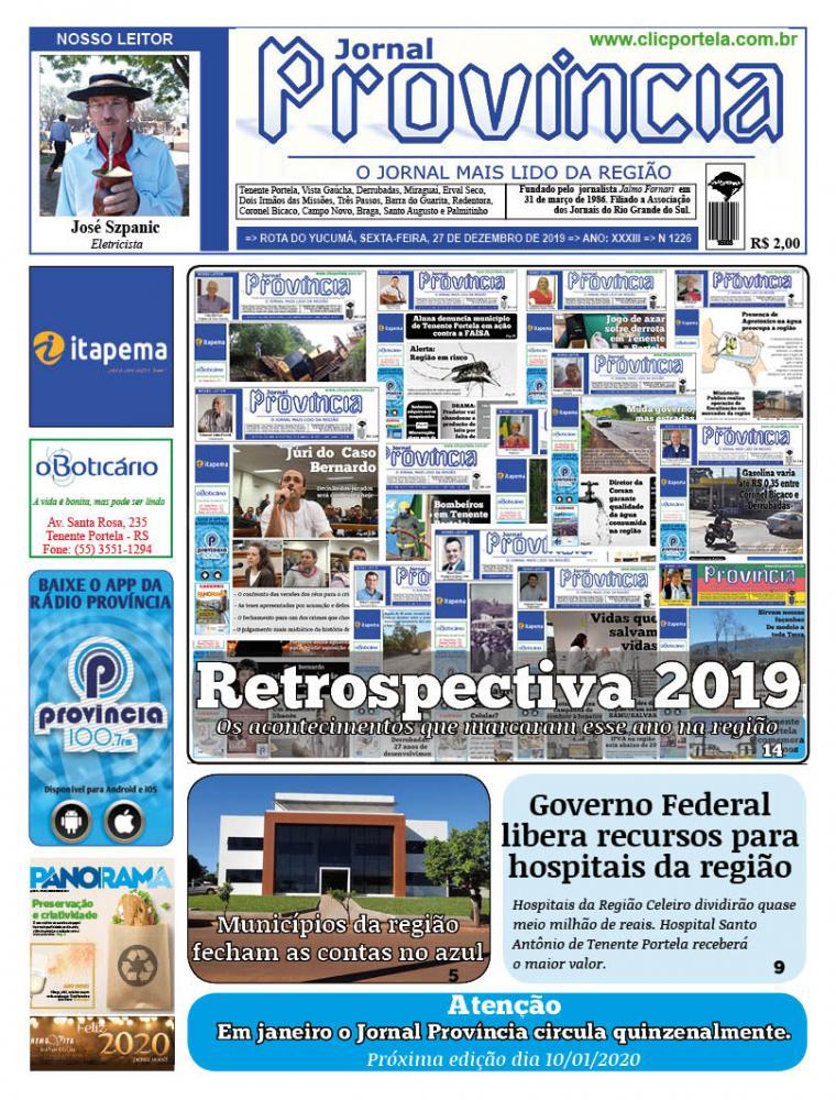 Edição 1226 - 27 de Dezembro de 2019
