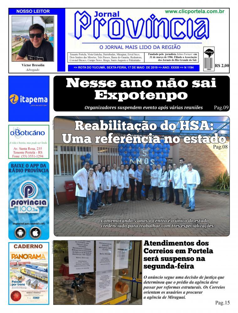 Edição 1194 - 17 de maio de 2019