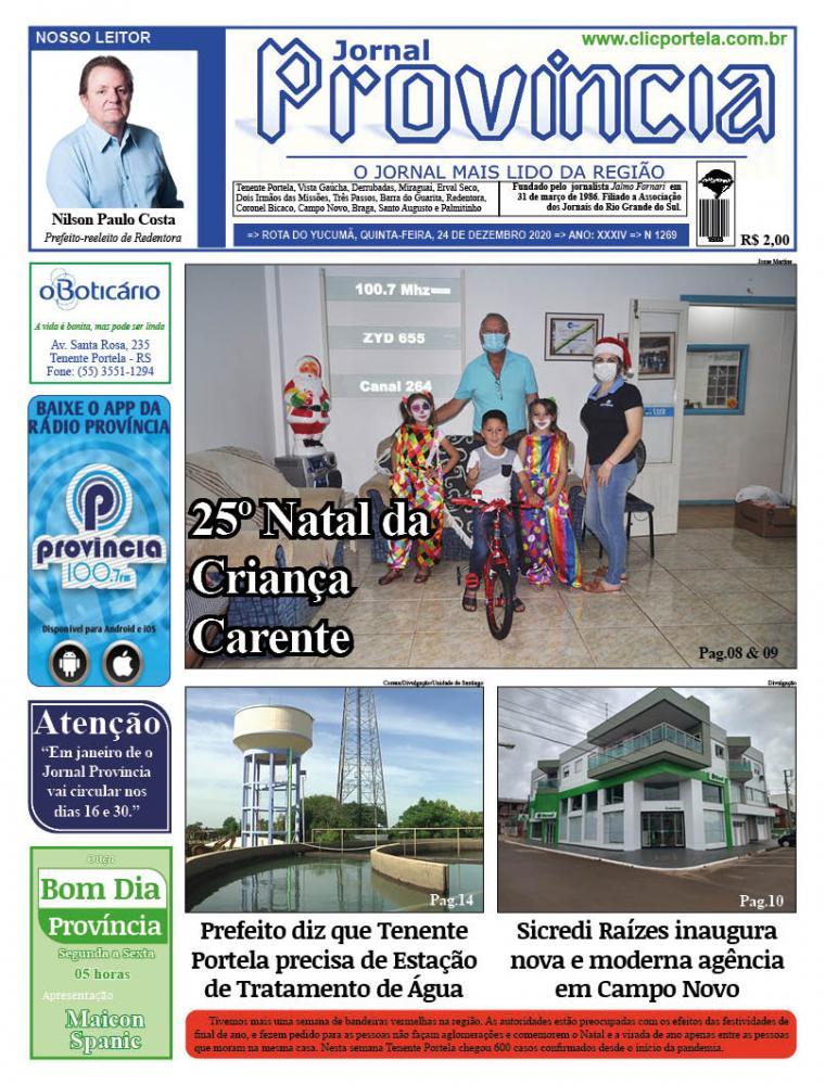Edição 1269 - 24 de Dezembro de 2020