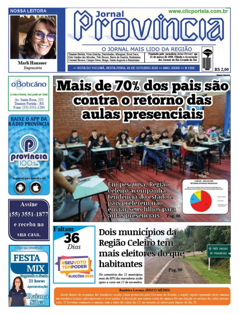 Edição 1258 - 09 de Outubro de 2020
